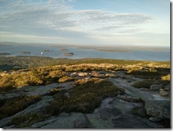 Bar Harbour from Cadillac Mtn