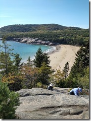 Sand Bay Hike Acadia NP Maine